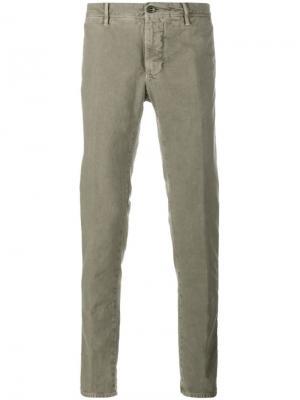 Джинсовые брюки-чинос Incotex. Цвет: телесный