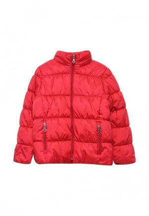 Куртка утепленная Button Blue. Цвет: красный