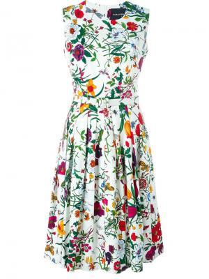 Платье Rachel с цветочным принтом Samantha Sung. Цвет: многоцветный