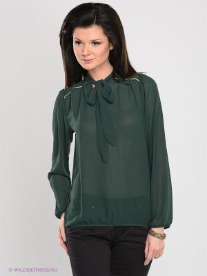Блузка Alphamoda. Цвет: зеленый
