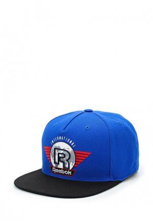 Бейсболка Reebok Classics. Цвет: синий