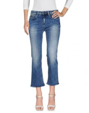 Джинсовые брюки DRYKORN. Цвет: синий