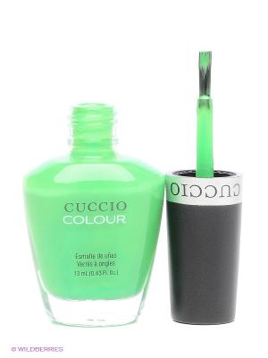 Лак Cuccio Colour Alternative Ener. Цвет: зеленый