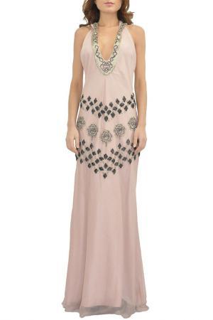 Платье Faust. Цвет: розовый