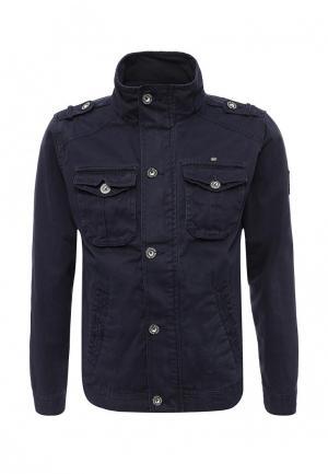 Куртка MeZaGuz. Цвет: синий