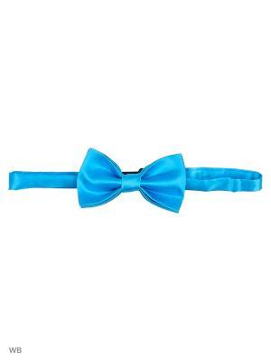 Бабочка Stilmark. Цвет: голубой
