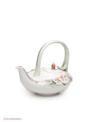 Заварочный чайник Виола Pavone. Цвет: кремовый