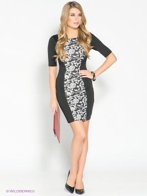 Платье AX Paris. Цвет: черный