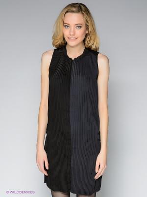 Платье G-STAR RAW. Цвет: черный, темно-синий