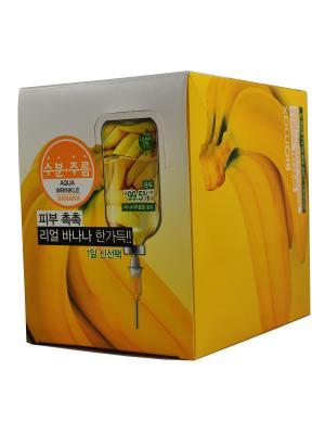 Ночная маска от морщин с экстрактом банана, 10 шт. BIO max. Цвет: белый
