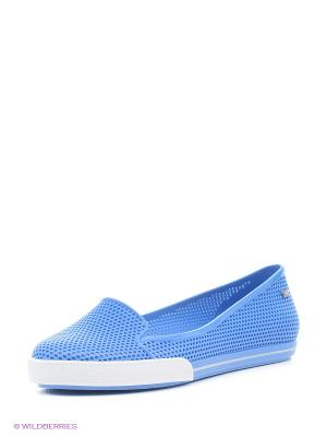 Балетки ZAXY. Цвет: голубой
