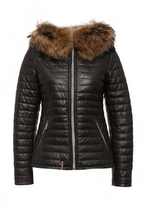 Куртка утепленная Oakwood. Цвет: коричневый