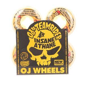 Колеса для скейтборда  Ez Edge Insaneathane Jessee Dream Baby 101A 55 mm Oj. Цвет: оранжевый,белый