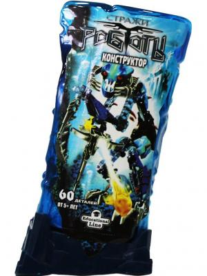 Конструктор RoboBlock Синий Воин M Склад Уникальных Товаров. Цвет: синий