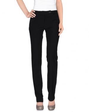 Повседневные брюки LUPATTELLI. Цвет: черный