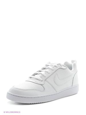 Кеды NIKE COURT BOROUGH LOW. Цвет: белый