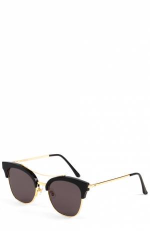 Солнцезащитные очки Gentle Monster. Цвет: черный