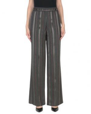 Повседневные брюки 1-ONE. Цвет: стальной серый