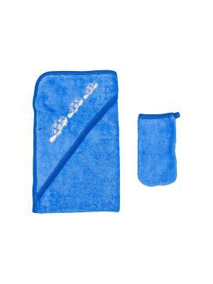 Набор для купания Клякса. Цвет: синий