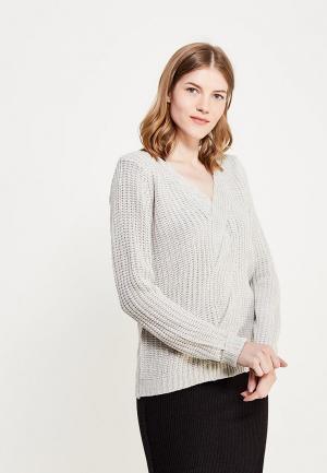 Пуловер Brave Soul. Цвет: серый