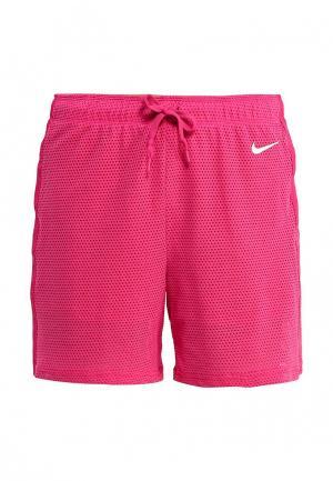 Шорты Nike. Цвет: розовый