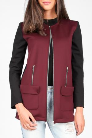 Куртка Joins. Цвет: black wine
