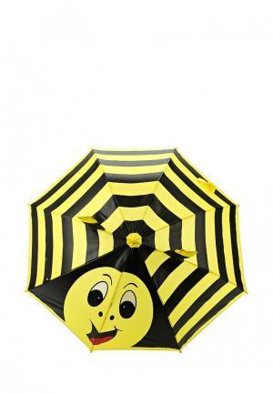 Зонт-трость Incity. Цвет: желтый