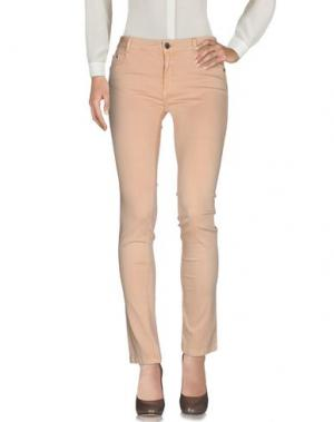 Повседневные брюки CRISTINAEFFE. Цвет: песочный