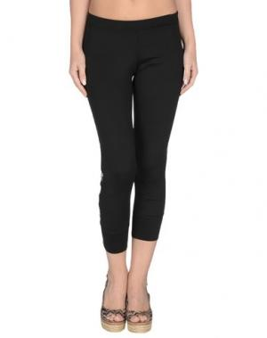 Пляжные брюки и шорты VDP BEACH. Цвет: черный