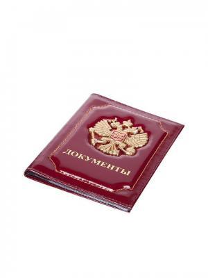 Бумажник водителя Forte. Цвет: красный