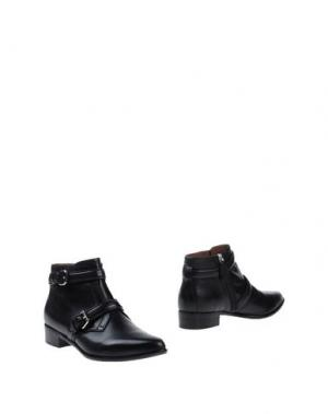 Полусапоги и высокие ботинки TABITHA SIMMONS. Цвет: черный