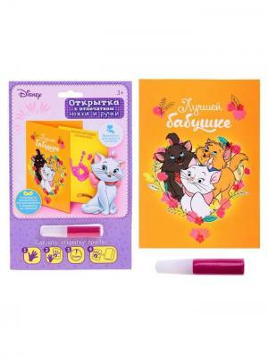Набор для создания детского отпечатка, Коты Аристократы Disney. Цвет: черный, желтый, малиновый, молочный, оранжевый, фиолетовый