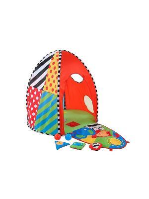 Развивающий домик для малыша ELC. Цвет: красный, зеленый