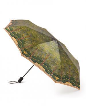 Зонт aвтомат Стрекозы Henry Backer. Цвет: зеленый