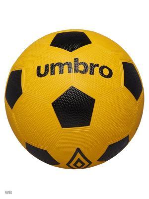 Мяч Футбольный Umbro. Цвет: желтый, белый, черный