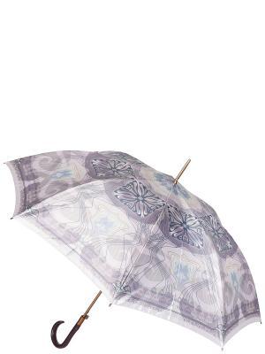 Зонт-трость Eleganzza. Цвет: серо-голубой, молочный, серый