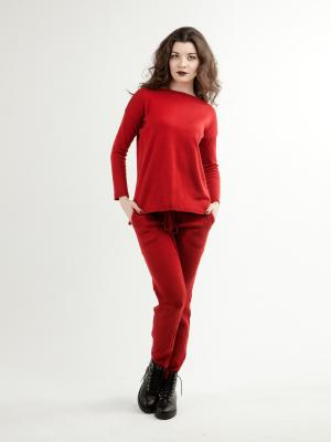 Костюм(брюки,джемпер) Sava. Цвет: бордовый