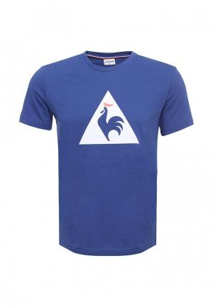 Футболка Le Coq Sportif. Цвет: синий