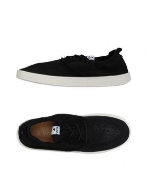 Низкие кеды и кроссовки VOLTA. Цвет: черный