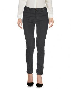Повседневные брюки CYCLE. Цвет: свинцово-серый