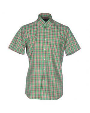 Pубашка CONTE OF FLORENCE. Цвет: зеленый