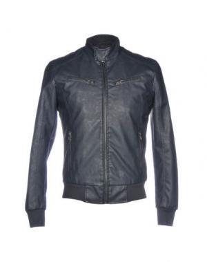 Куртка CENSURED. Цвет: темно-синий