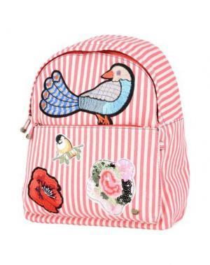 Рюкзаки и сумки на пояс LOLLIPOPS. Цвет: коралловый