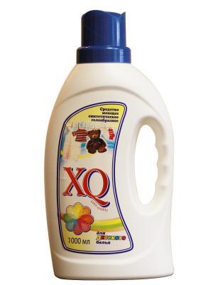 Средство моющее синтетическое гелеобразное для детского белья, 1 л XQ. Цвет: прозрачный