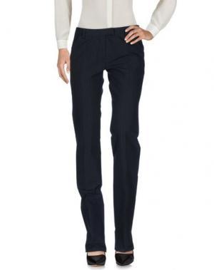 Повседневные брюки FIRMA. Цвет: темно-синий