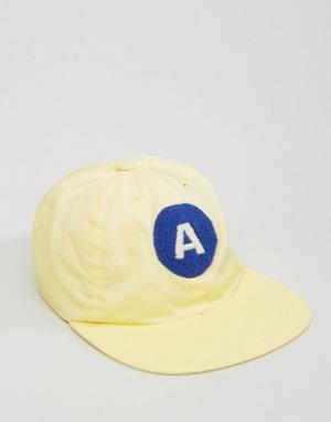 Maharishi Baseball Cap In Yellow. Цвет: желтый
