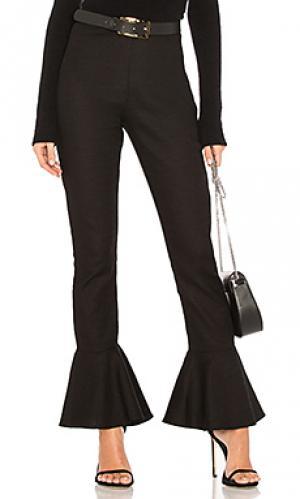 Расклешенные брюки lucia SIR the label. Цвет: черный