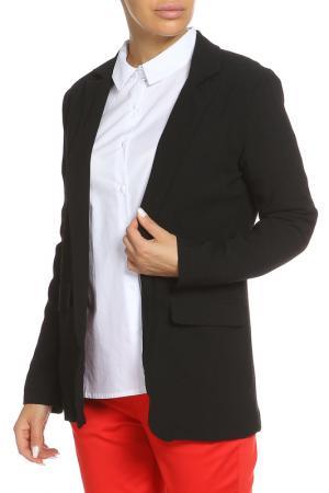 Пиджак с отложным воротником B.YOUNG. Цвет: 80001 чёрный