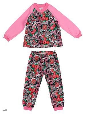 Комплект El Fa Mei. Цвет: розовый, черный, красный