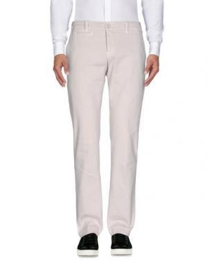 Повседневные брюки DONDUP. Цвет: светло-серый